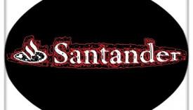 logo empresa banco de santander-logo artistico by la bolsa por antonomasia