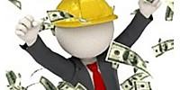 dinero en la construcción