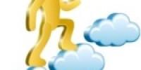 subiendo bolsa de nube en nube